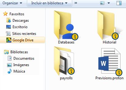 Google Drive en Desktop