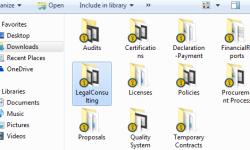 Consultation Folders