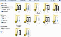 Legal folders