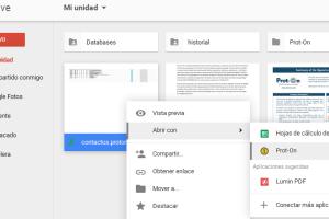 Plugin para Google Drive, gestiona sin salir de la interface Drive