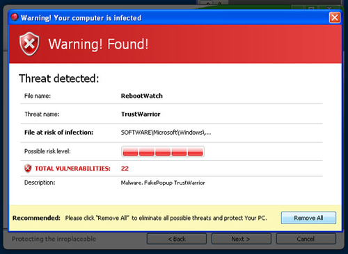Rogue antivirus