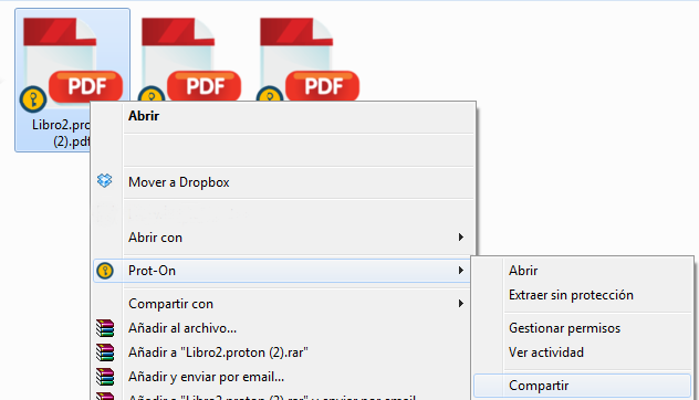 Proteger documentos Dropbox